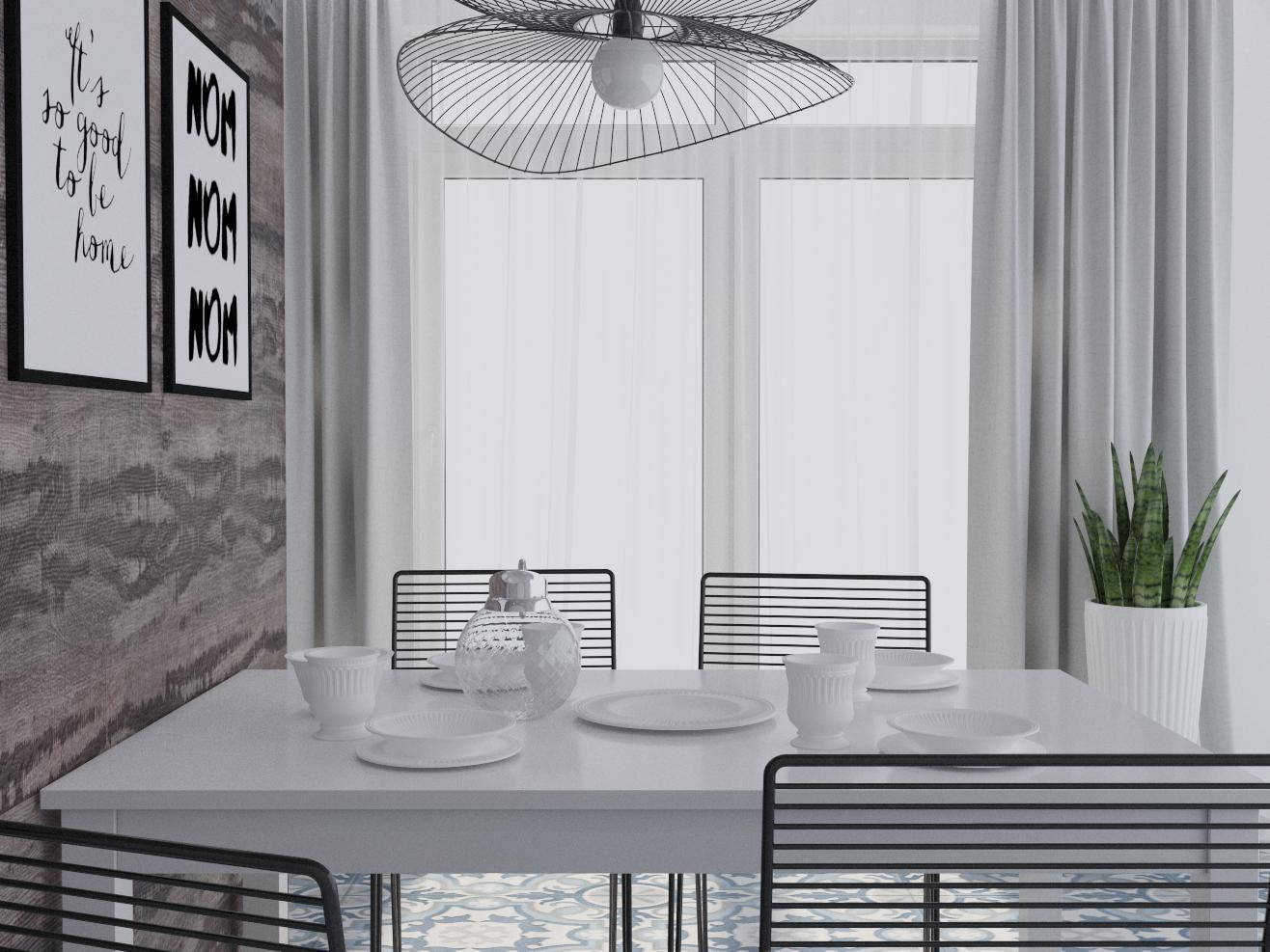 "Квартира 192 м.кв , кухня-вітальня""А combination of realities"" - фото 3"