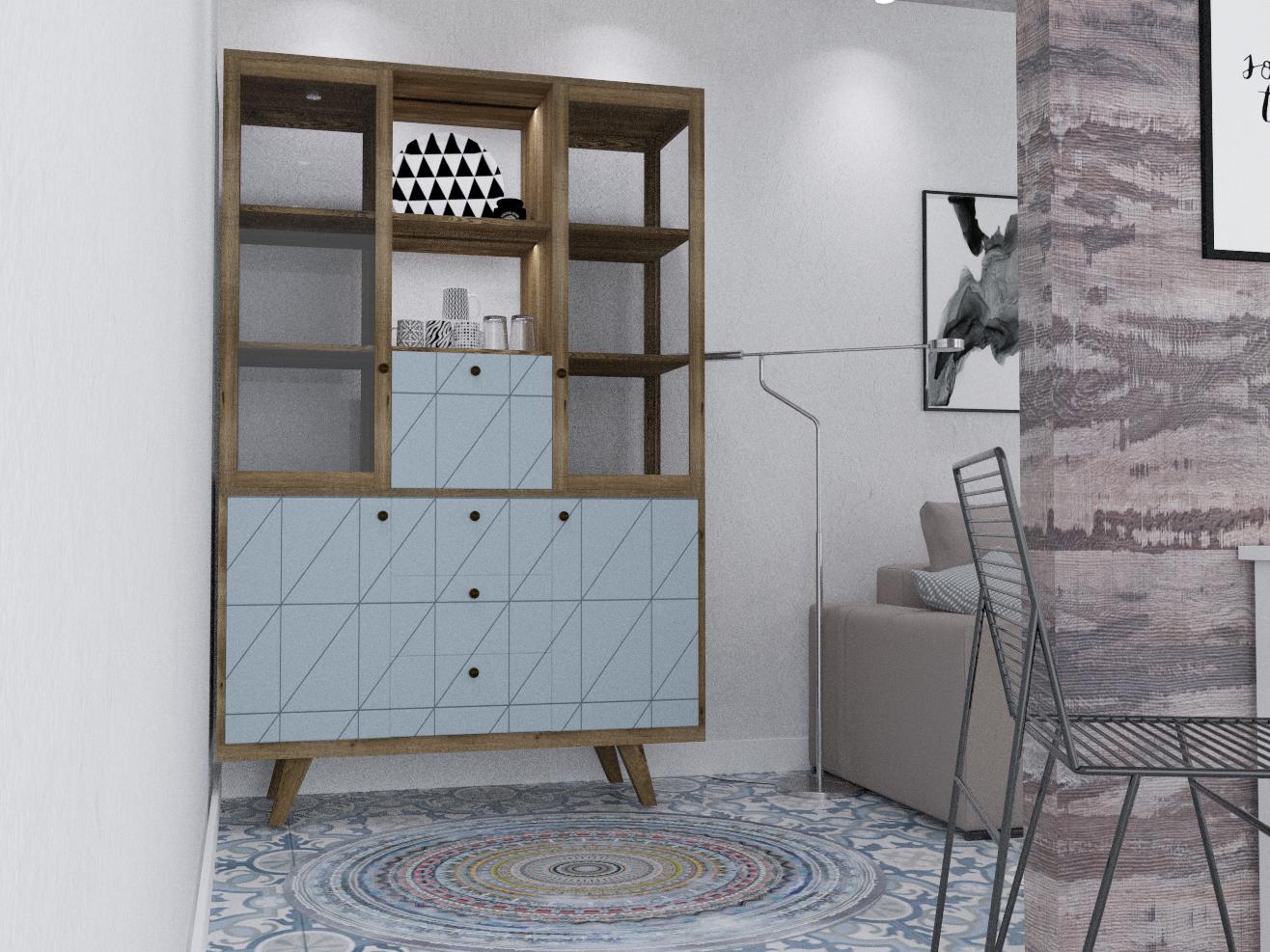 "Квартира 192 м.кв , кухня-вітальня""А combination of realities"" - фото 4"