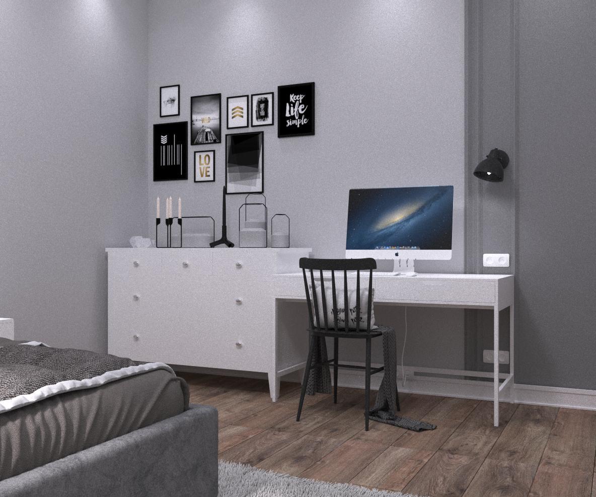 """Квартира в сучасному стилі """"Game of contrasts"""" - фото 2"""