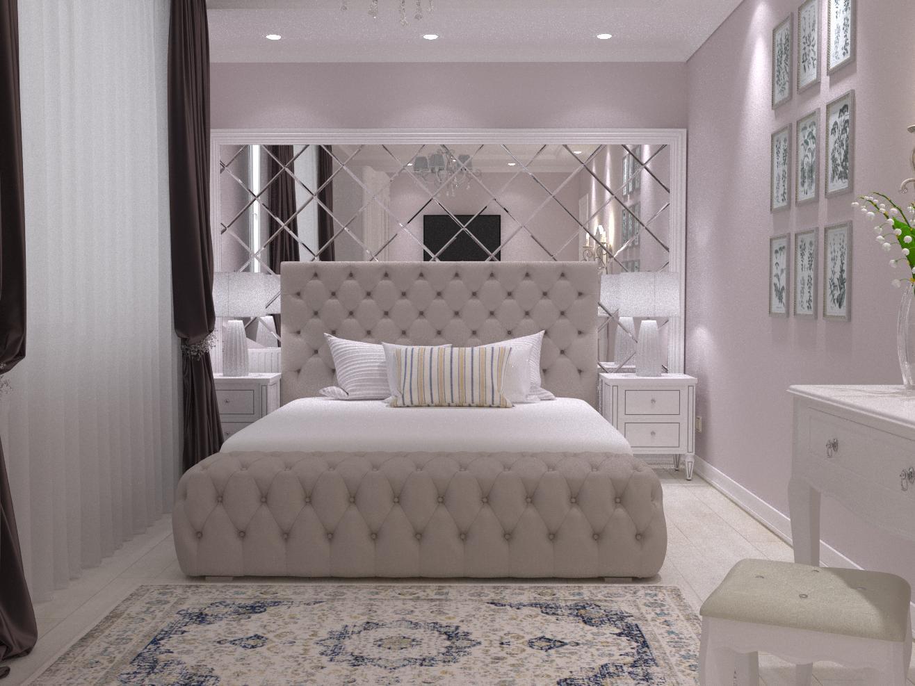 """Спальня в проекті жк""""Агора"""" - фото 1"""
