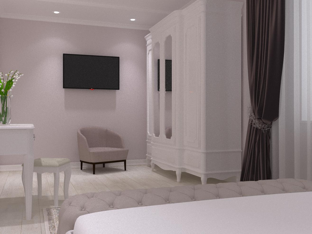 """Спальня в проекті жк""""Агора"""" - фото 2"""