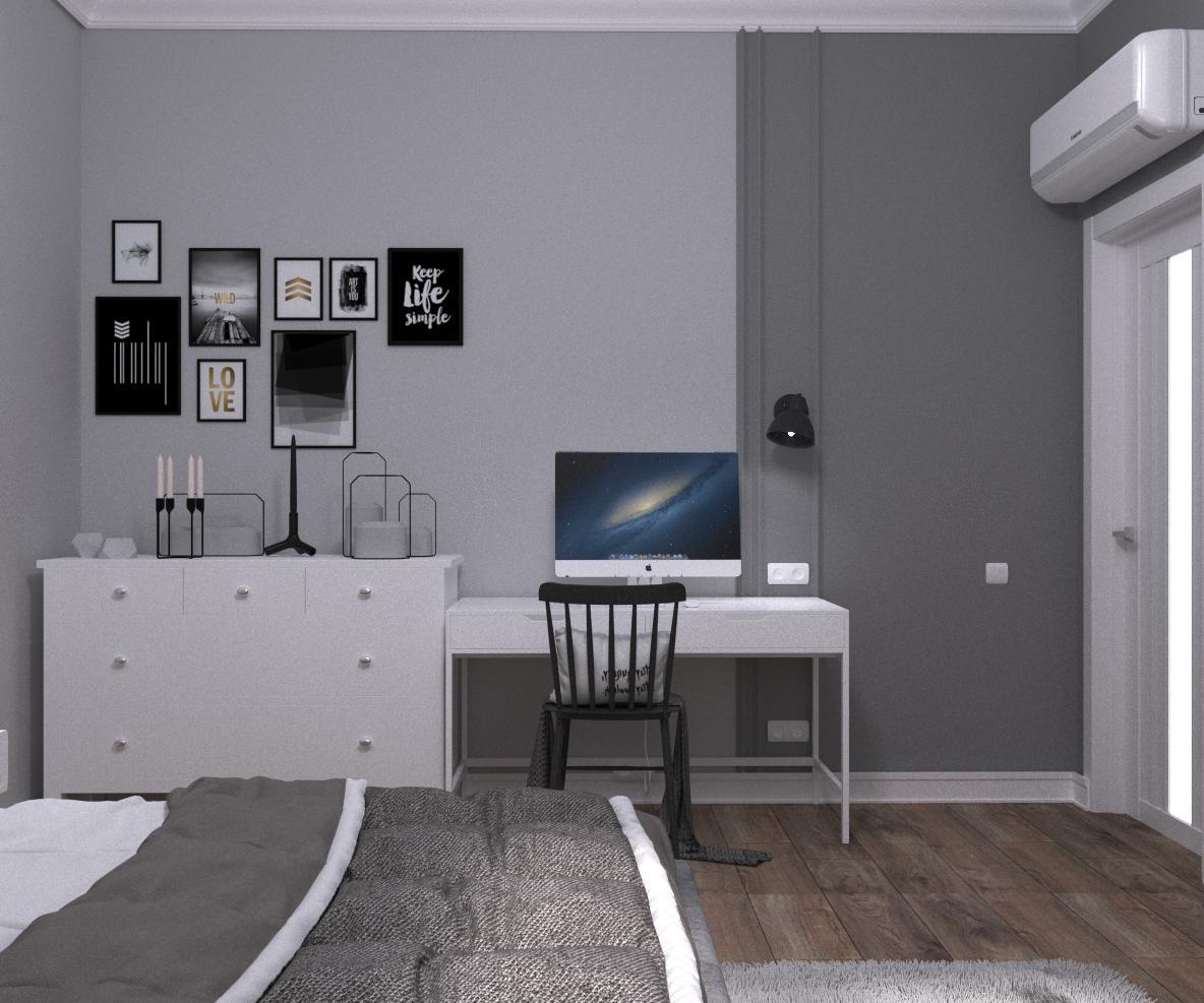 """Квартира в сучасному стилі """"Game of contrasts"""" - фото 4"""