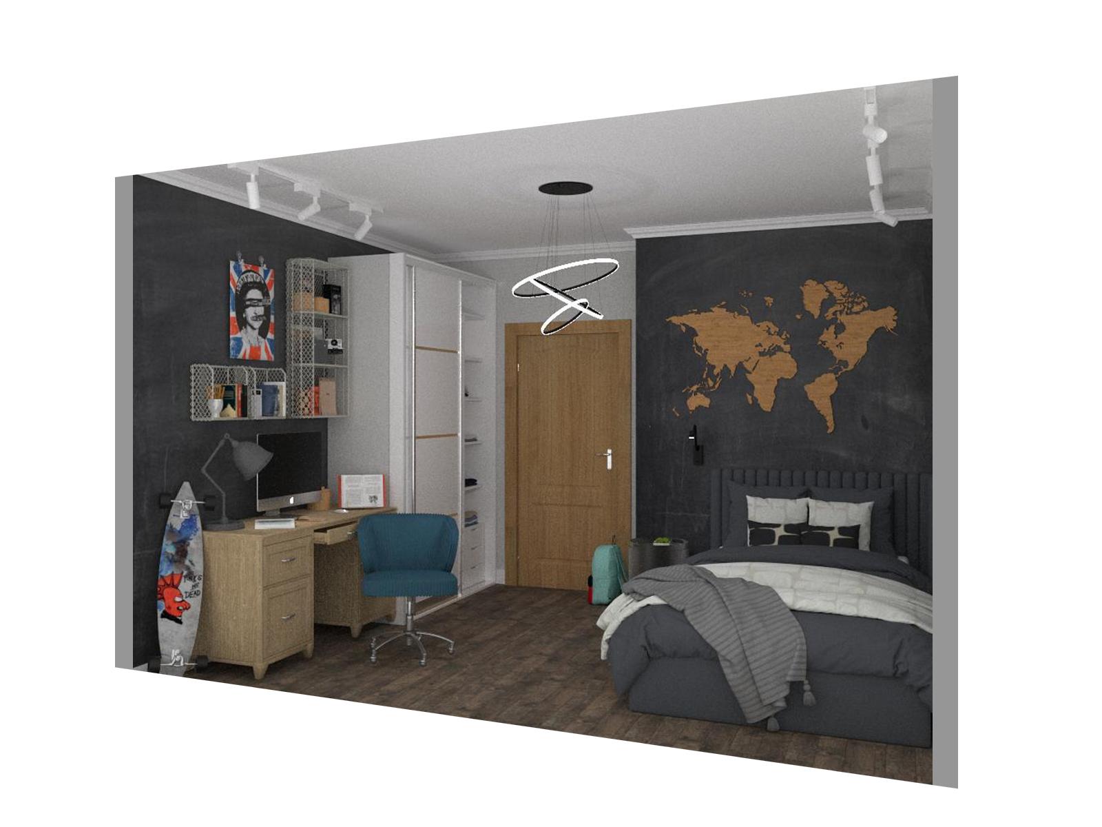 Дизайн кімнати для хлопчика - фото 4
