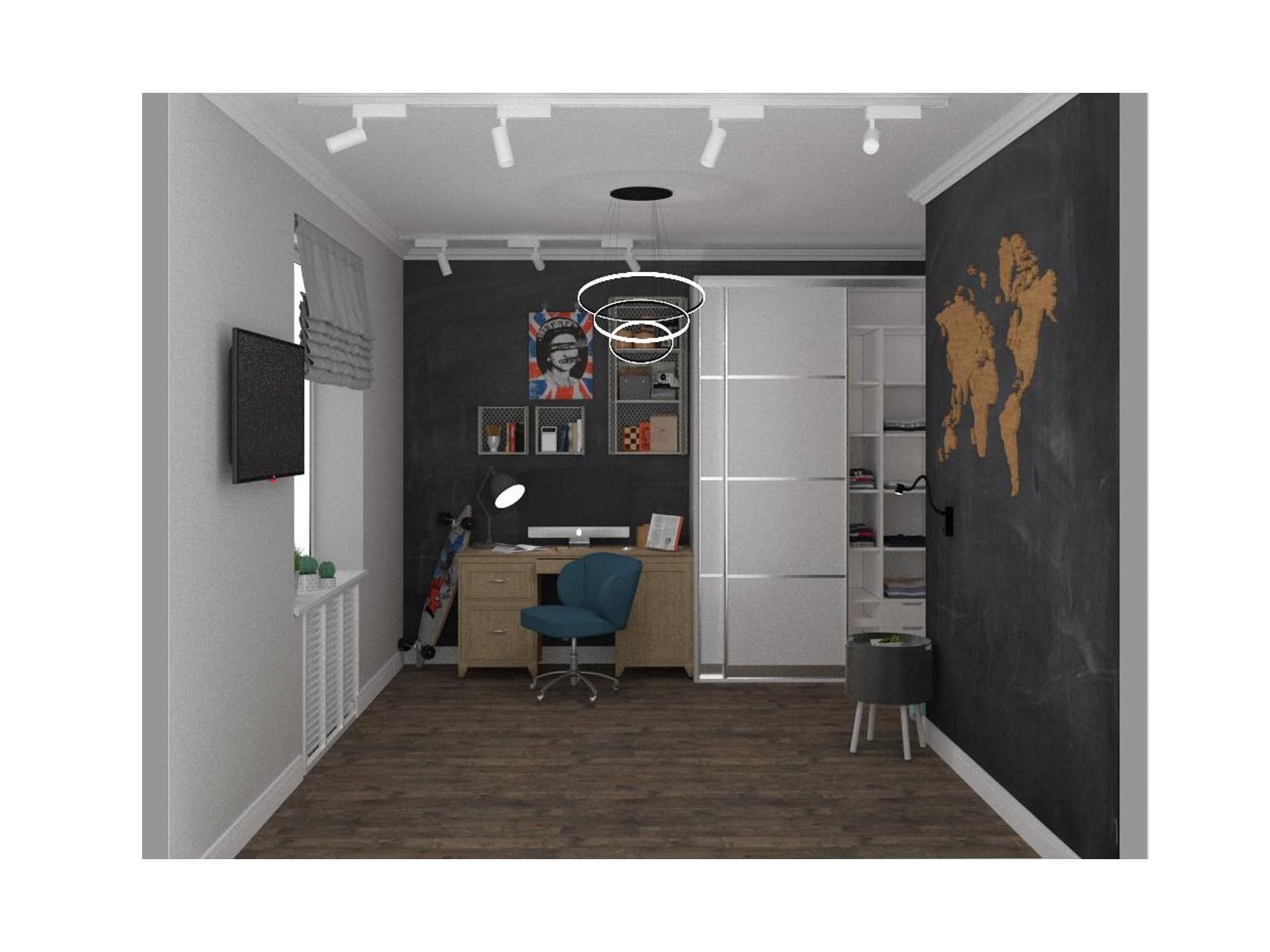 Дизайн кімнати для хлопчика - фото 5