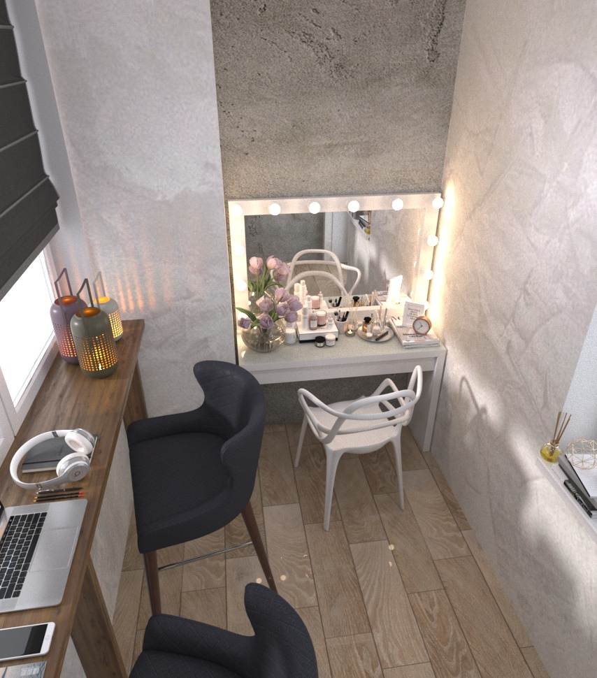 Дизайн-проект квартири Старокостянтинівське шоссе балкон - фото 3