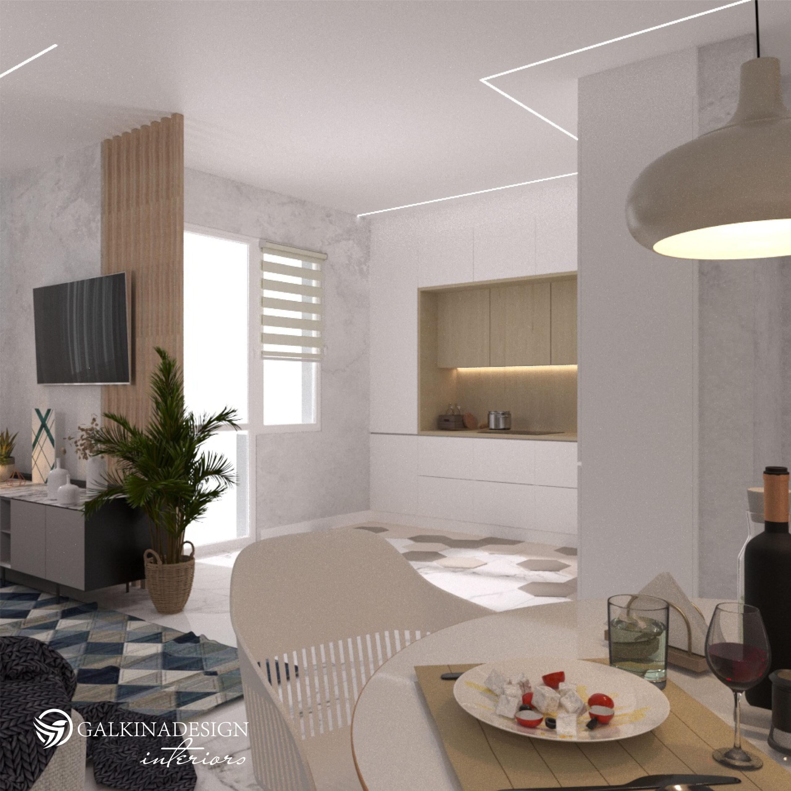 Проект квартири. Кухня - фото 2