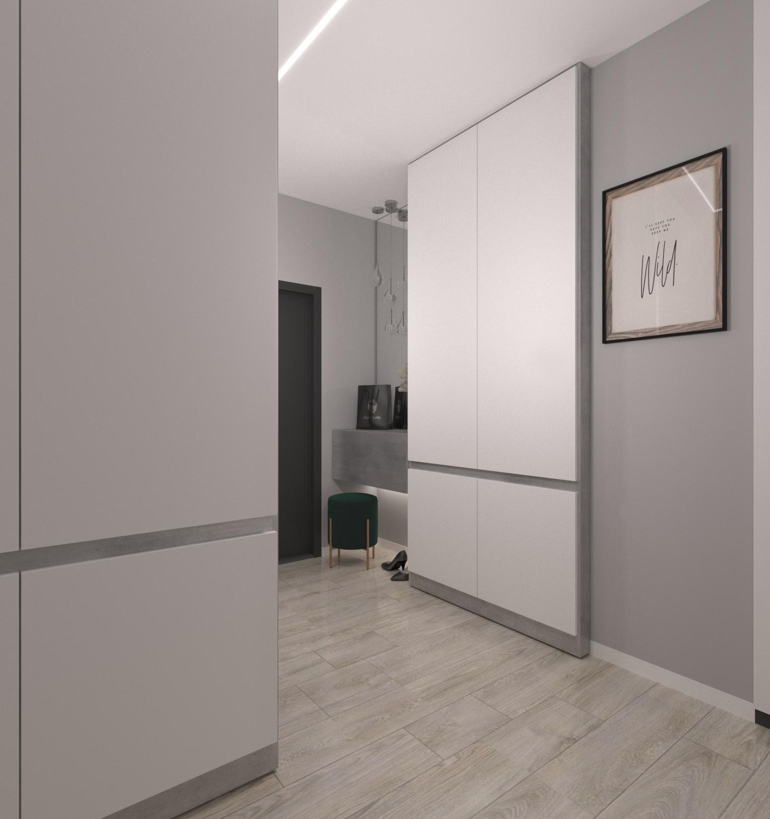Проект квартири 47,5 кв.м по вул. Проскуровського Підпілля 165а - фото 12