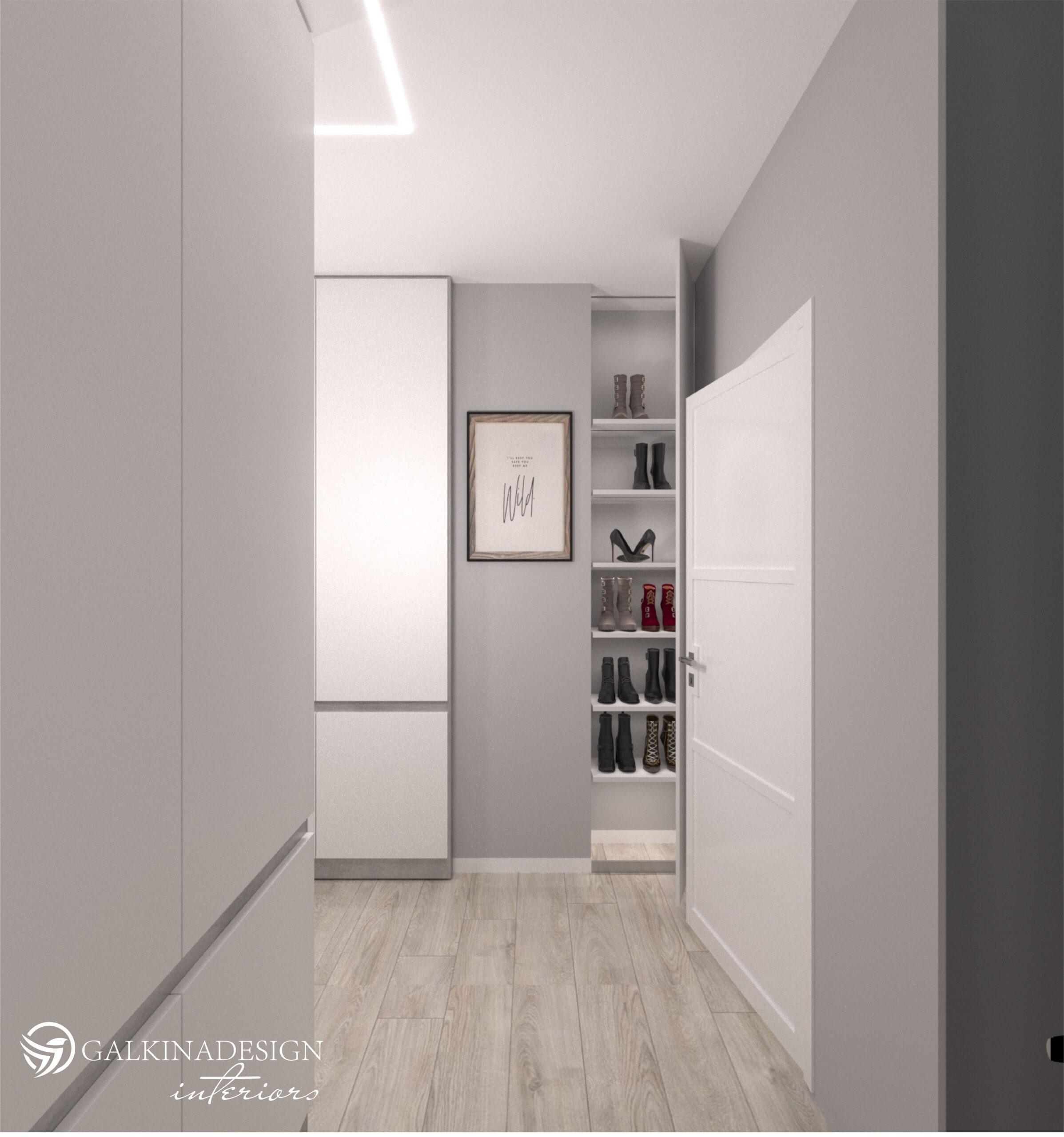 Проект квартири 47,5 кв.м по вул. Проскуровського Підпілля 165а - фото 13