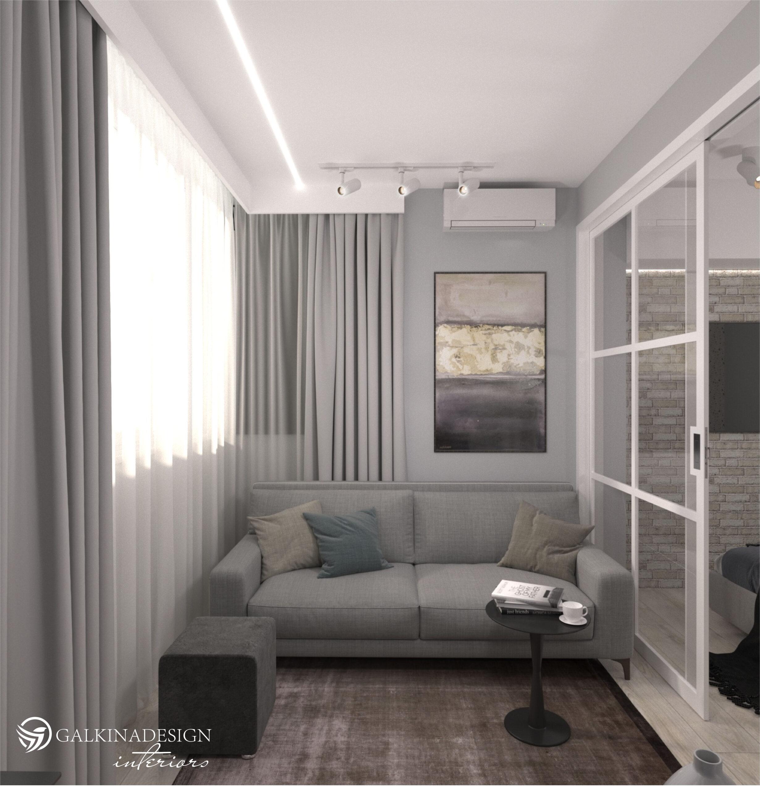 Проект квартири 47,5 кв.м по вул. Проскуровського Підпілля 165а - фото 10