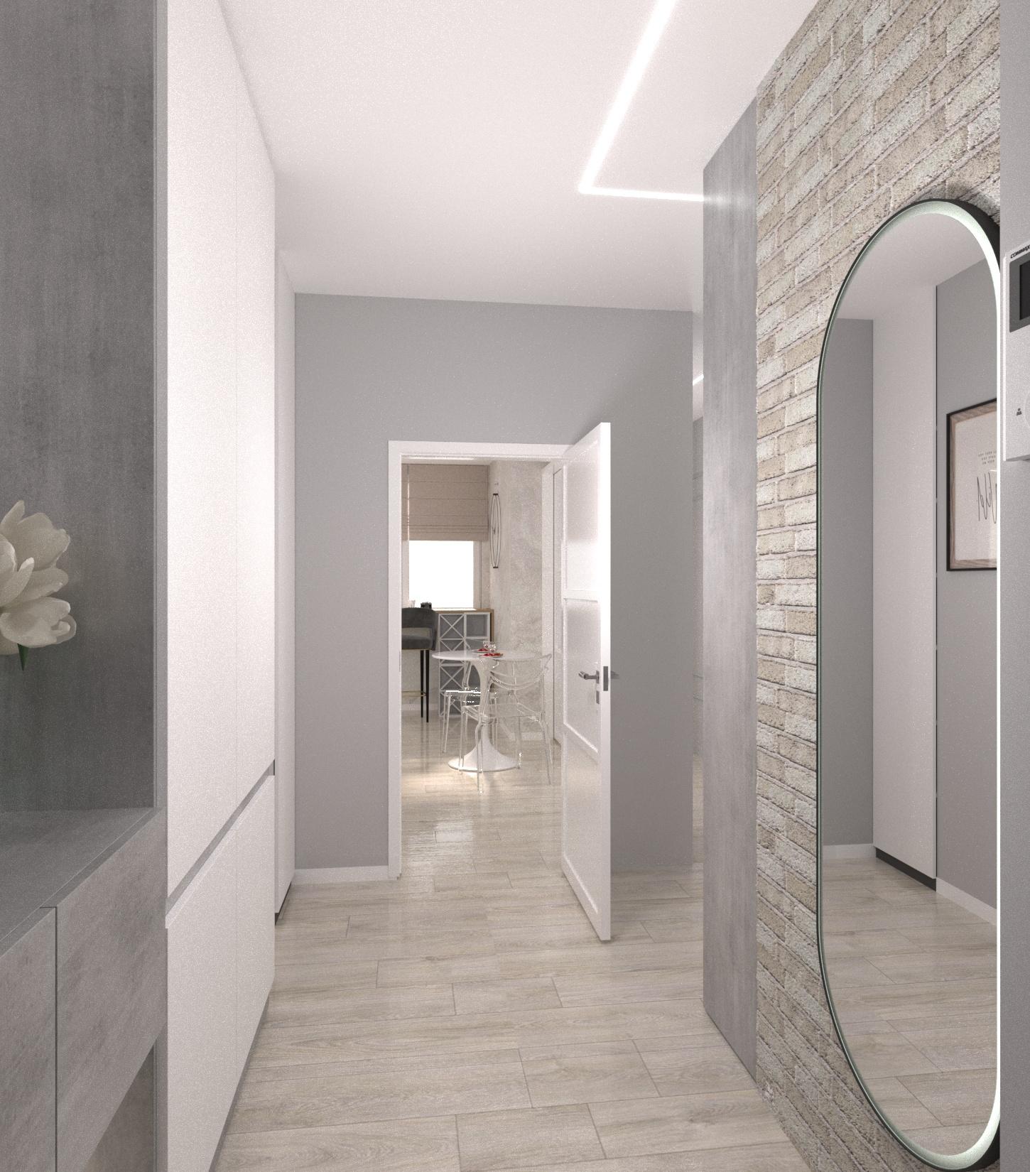 Проект квартири 47,5 кв.м по вул. Проскуровського Підпілля 165а - фото 11