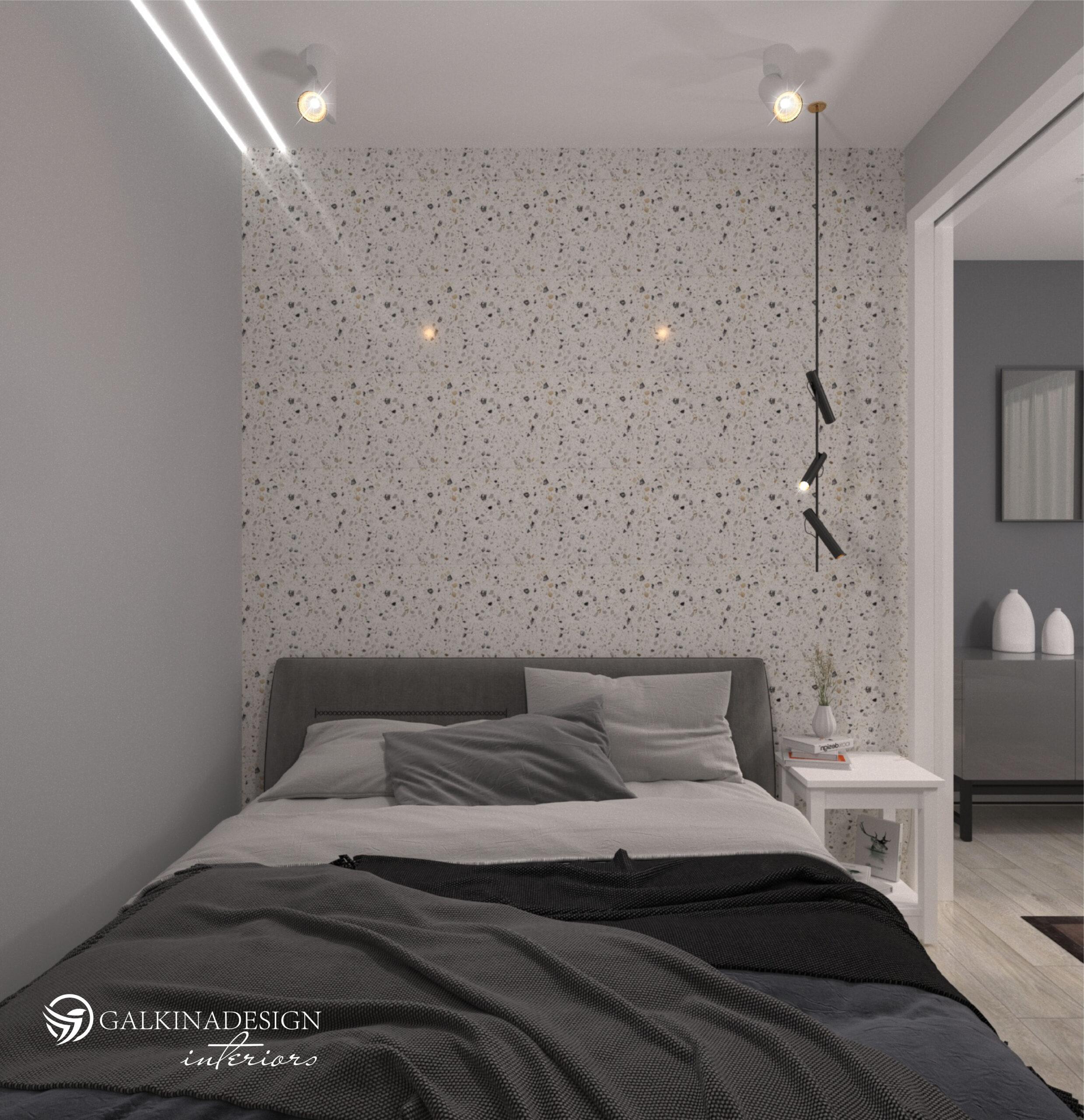 Проект квартири 47,5 кв.м по вул. Проскуровського Підпілля 165а - фото 2