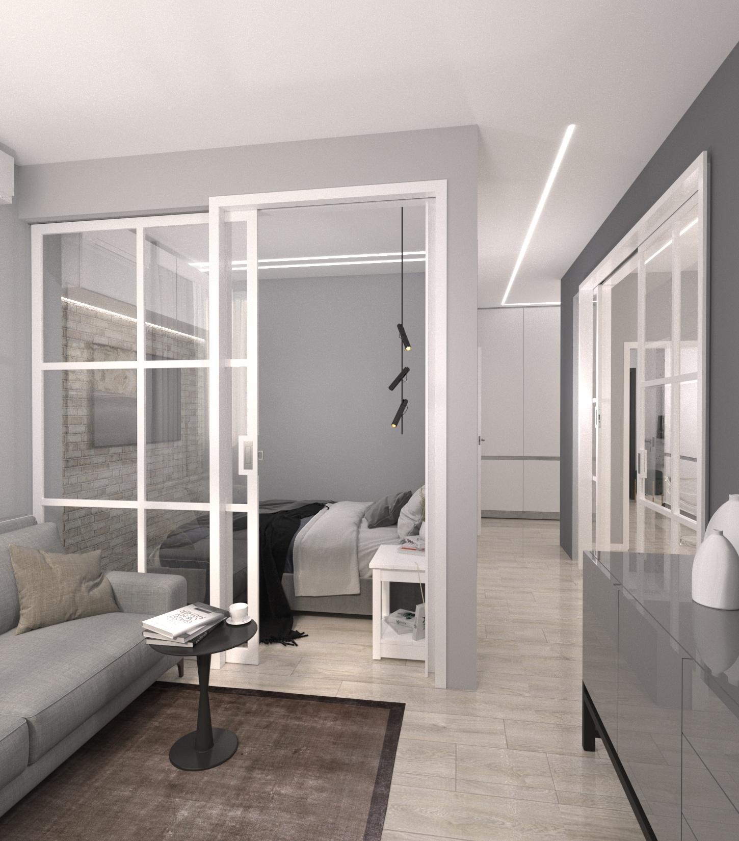 Проект квартири 47,5 кв.м по вул. Проскуровського Підпілля 165а - фото 6