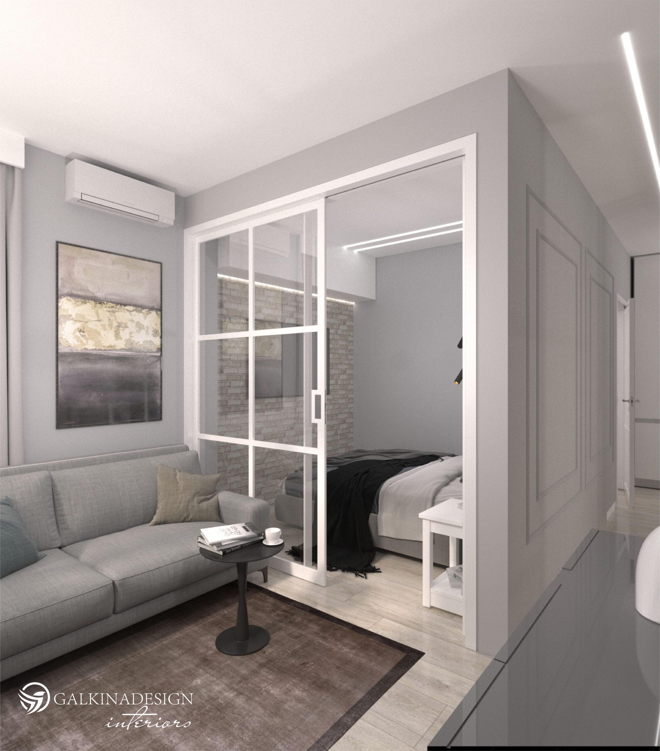 Проект квартири 47,5 кв.м по вул. Проскуровського Підпілля 165а - фото 5