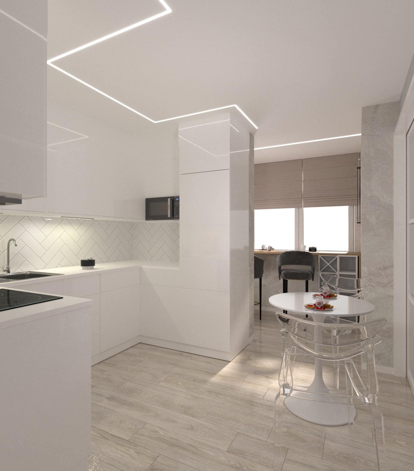 Проект квартири 47,5 кв.м по вул. Проскуровського Підпілля 165а - фото 8