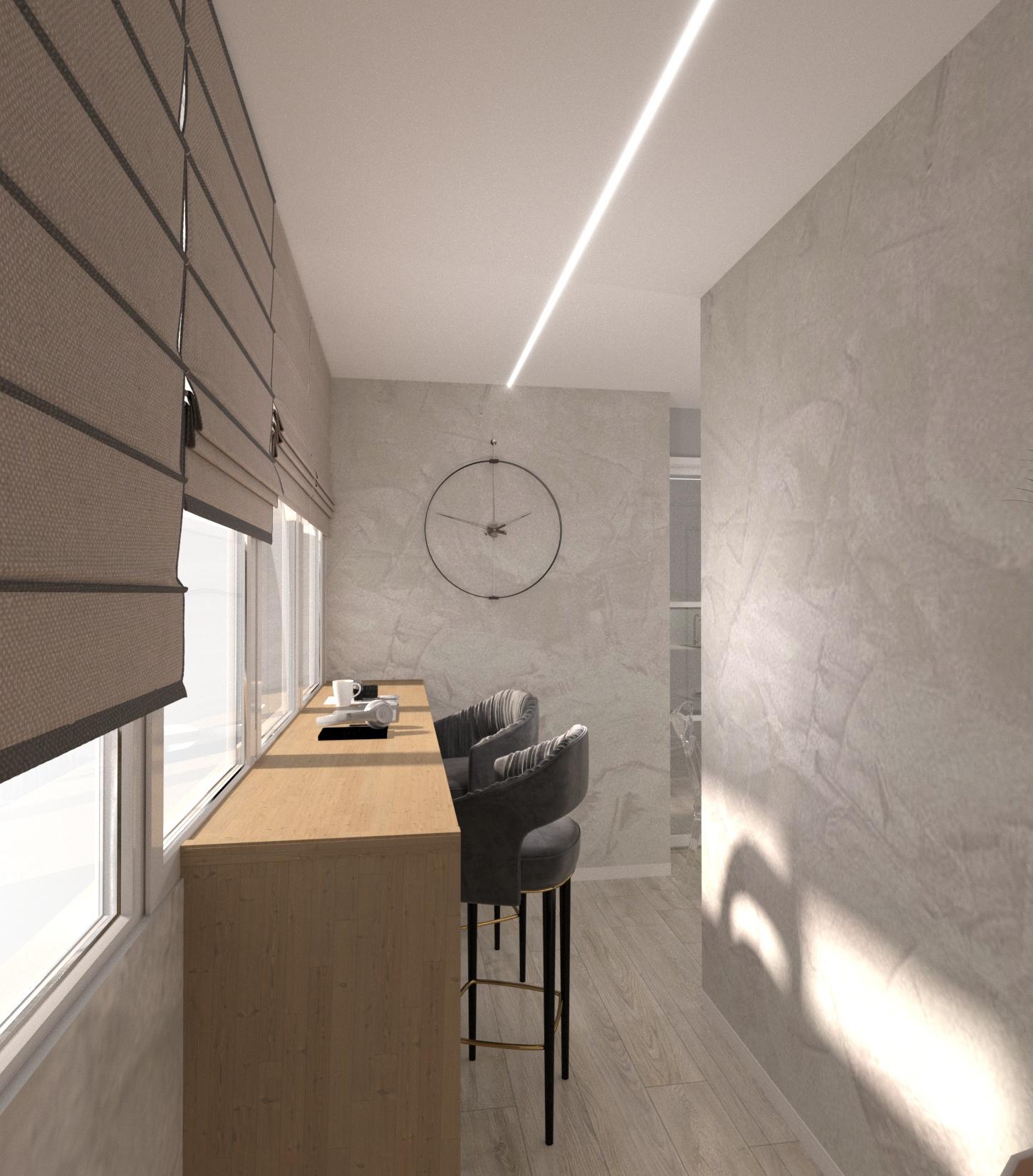 Проект квартири 47,5 кв.м по вул. Проскуровського Підпілля 165а - фото 19