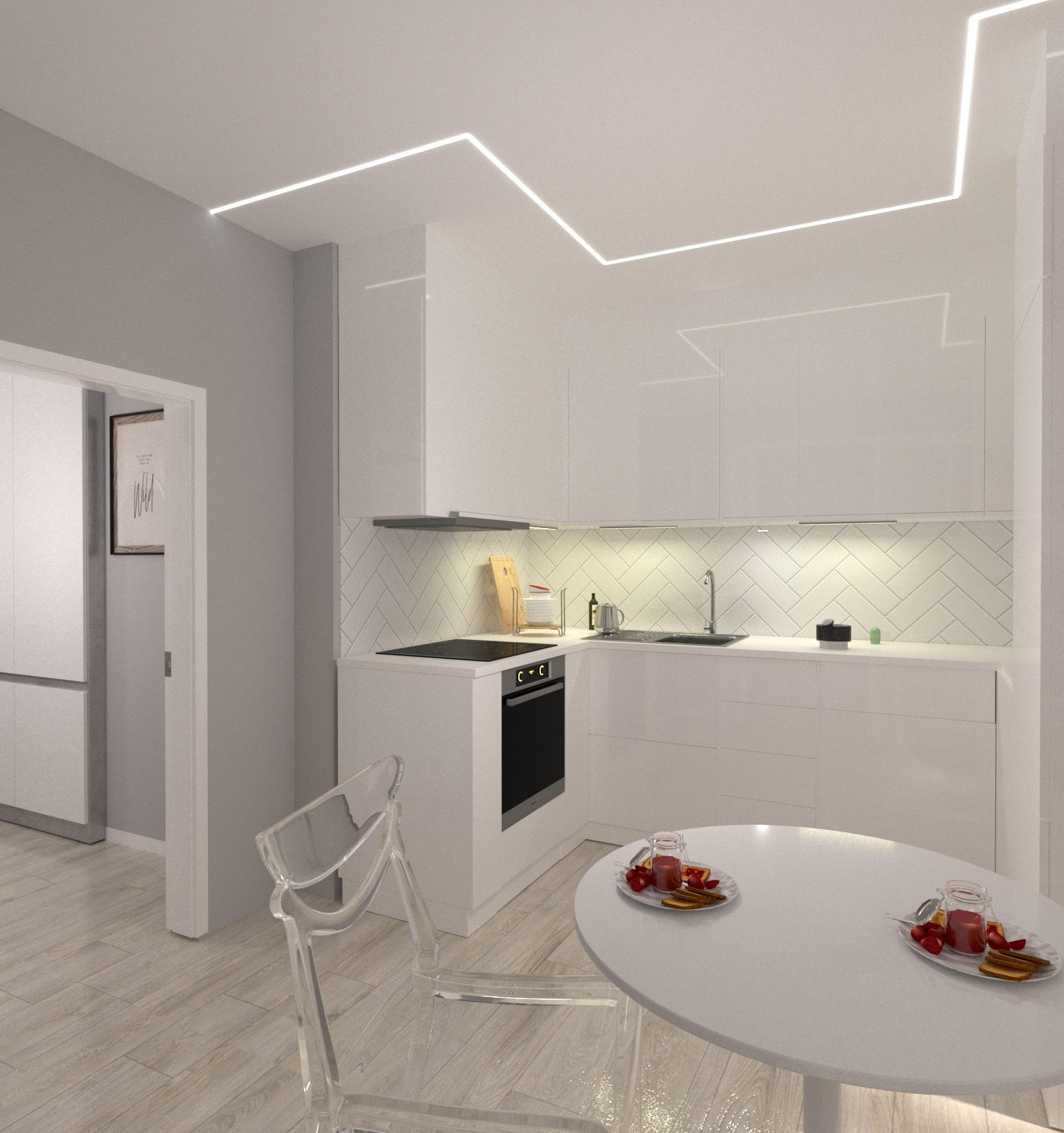 Проект квартири 47,5 кв.м по вул. Проскуровського Підпілля 165а - фото 9